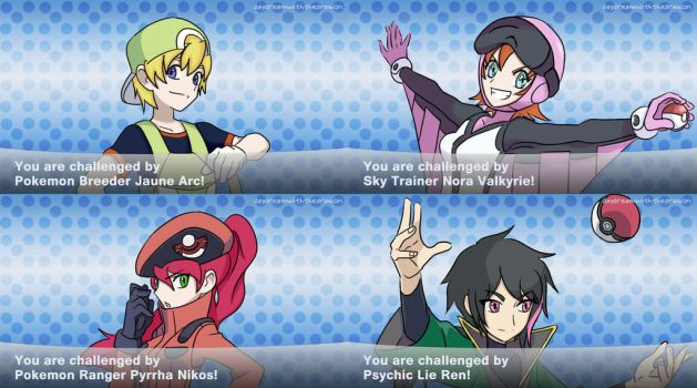 JNPR Pokemon Trainers by depression76