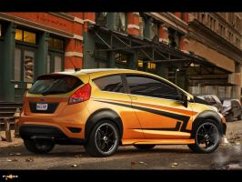 Ford Fiesta by pacee