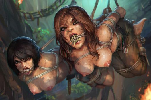 Tomb Raider and the Cave of a Thousand Delights by SanePerson