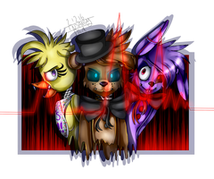FNAF | We Enough To KiLl In A HeArTbEaT~ by Illumi-Kins