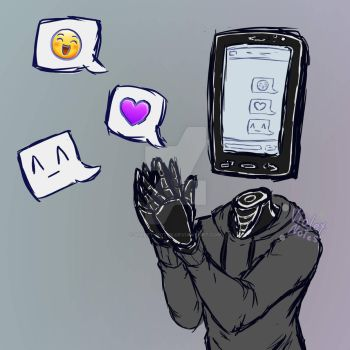 [Oc/Persona] Sam ''Thank you..!'' by Violet-notes