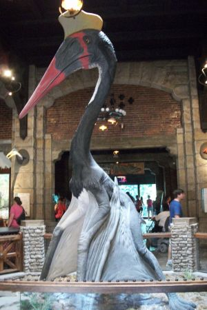 Quetzalcoatlus at the Toledo Zoo