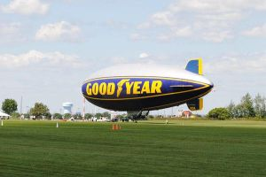 EAA: GoodYear Blimp by charliemarlowe