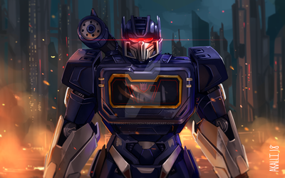 Soundwave::2018 by ForgottenHope547