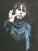 Ville Valo by lackasleep