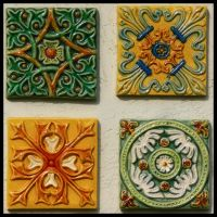 Decorative Tiles by Frostola