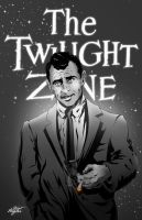 Rod Serling - The Twilight Zone by ClintHagler