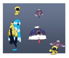 Fakemon: Rain Buddies by UsaRitsu