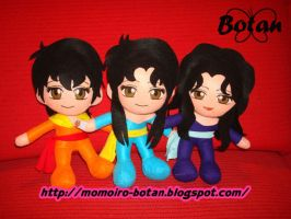 chibi Sheila Tati and Kelly plush version by Momoiro-Botan