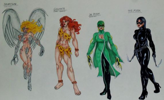 Wonder Woman Villains Redone: Page2 by Medusa1893