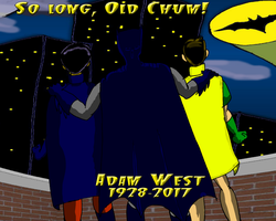So Long, Old Chum. My tribute  to Adam West by KiteBoy1