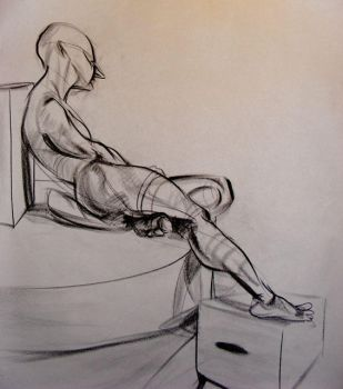 Life Drawing 9-21 by Fridgee87