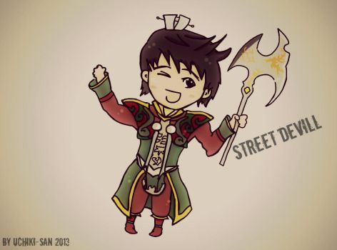 Metin2 Fan Art - Street Devill by UchikiSan