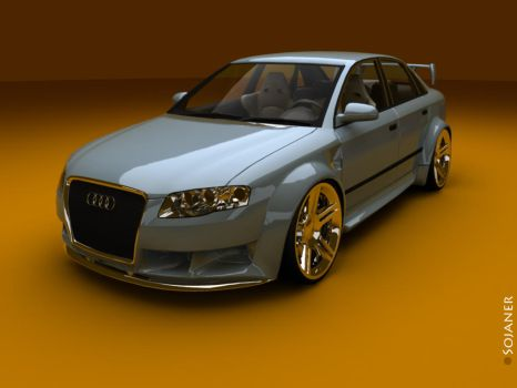 Another Audi A4 Street by Sojaner