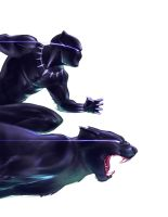 Black Panther by anchan