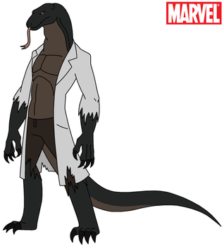 Marvel - The Lizard 2015 by HewyToonmore