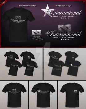 The International - T-shirt by wolfartred