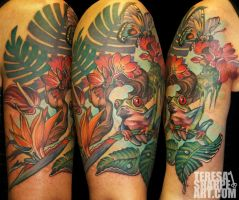Rainforest Tattoo by Phedre1985
