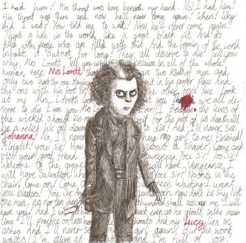 Sweeney Todd by TheAwesomeFaerie