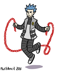 Im not very good at jumprope by Plus5Pencil