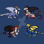 Inspired Dragon Adopts OPEN (4/4) by DragonStalker0713