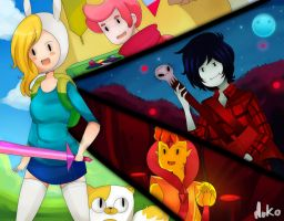 Adventure time by mokomar