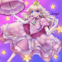 Princess Peach by UsagiProjects