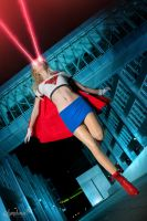 Supergirl unstoppable by CosplaySymphony