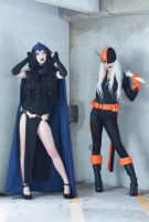 DC - Raven and Ravager by MeganCoffey