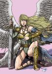Commission Angel Transformation 05 of 05 Color by leandro-sf