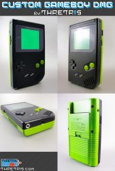 Green and Black Gameboy by Thretris