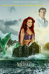 My Fanmade Disney's The Little Mermaid Poster by nickelbackloverxoxox