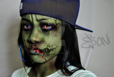 zombie'd out by EbonitaApplebum