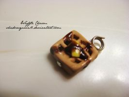 Tiny Waffle Charm by shadowqueen16