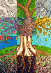 Patchwork Tree by MadeleiZoo