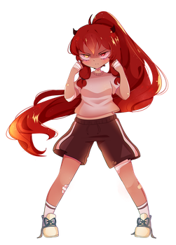 [OC] Flame by Helliebells