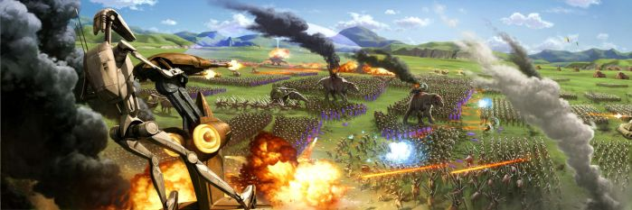 Battle of the Great Grass Plains by wraithdt