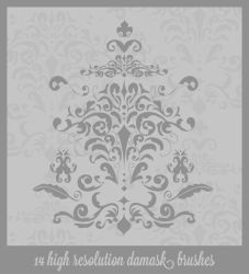 Damask Danasbrushes.abr by danasbrushes