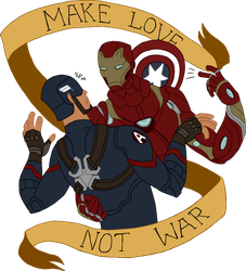 Make Love, not War by Dragon-Flash