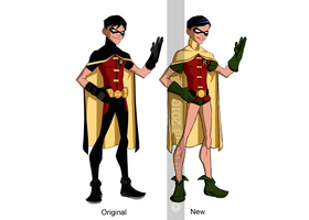 Young Justice Classic Robin by HiddenMutation