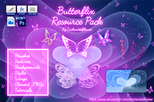 Butterflix Resource Pack by Enchantedflower