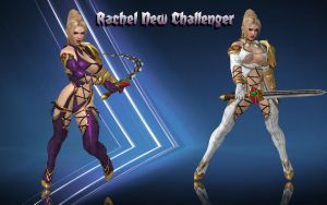 Rachel New Challenger xps by DragonLord720