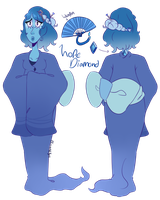 SU OC: Hope Diamond by LunaticLily13