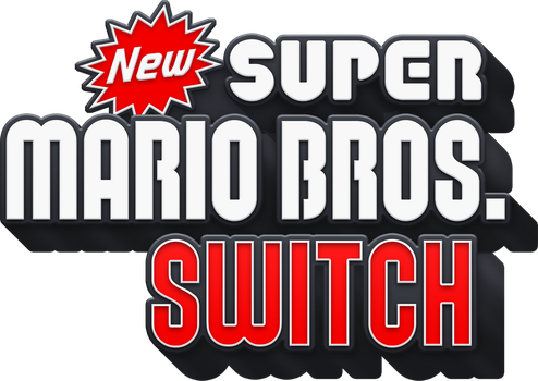 New Super Mario Bros. Switch Logo by PeterisBeter