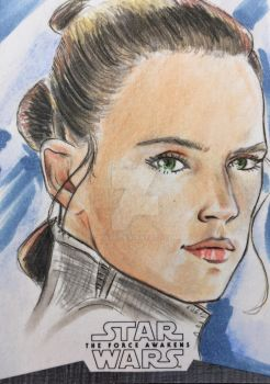 Rey by AIart