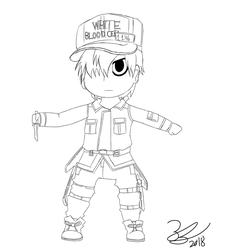 White Blood Cell (U-1146) by Noizy-Bunny