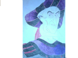 Frollo Smile by FireNationPhoenix