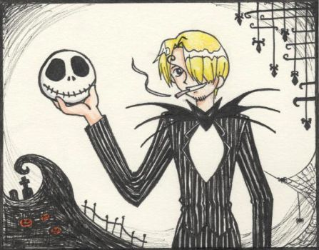 Nightmare before One Piece by lainabug
