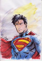 New 52 Man of Steel by anonymous1310