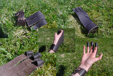 Archery glove by Moriquendi88